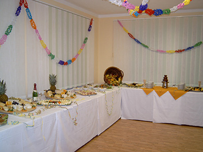 Landhotel Billing, Catering Buffet